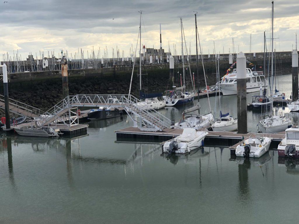 De haven van Le Havre