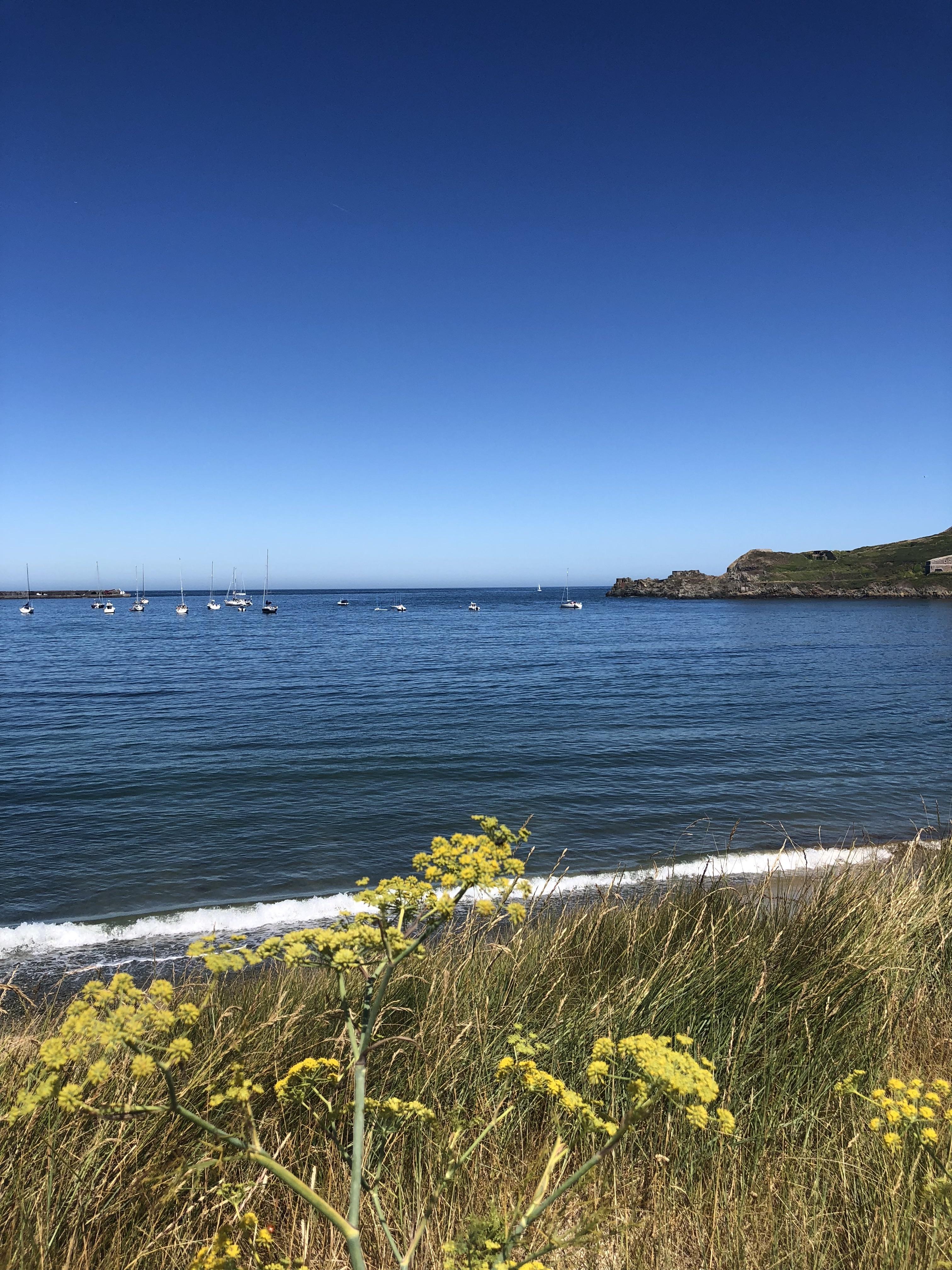 De baai van Alderney