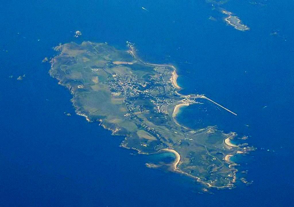The Swinge tussen Alderney en Burhou