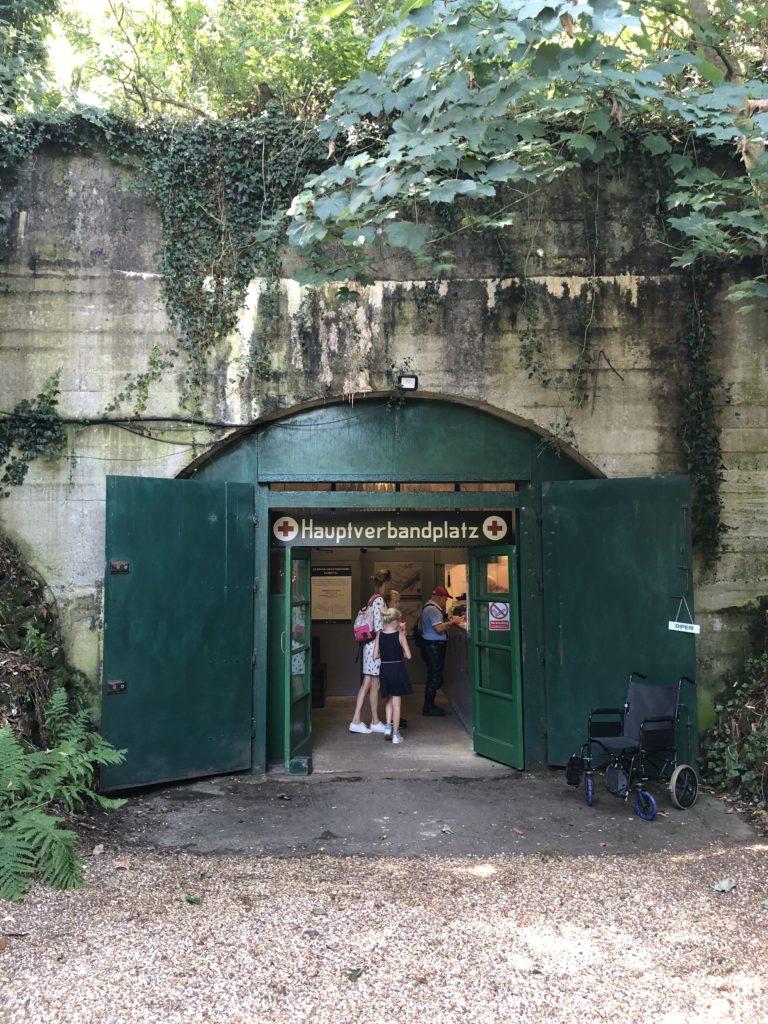 Het Duitse ondergrondse ziekenhuis