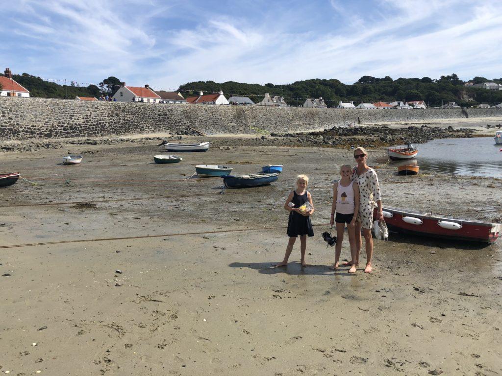 Het strand van Portelet