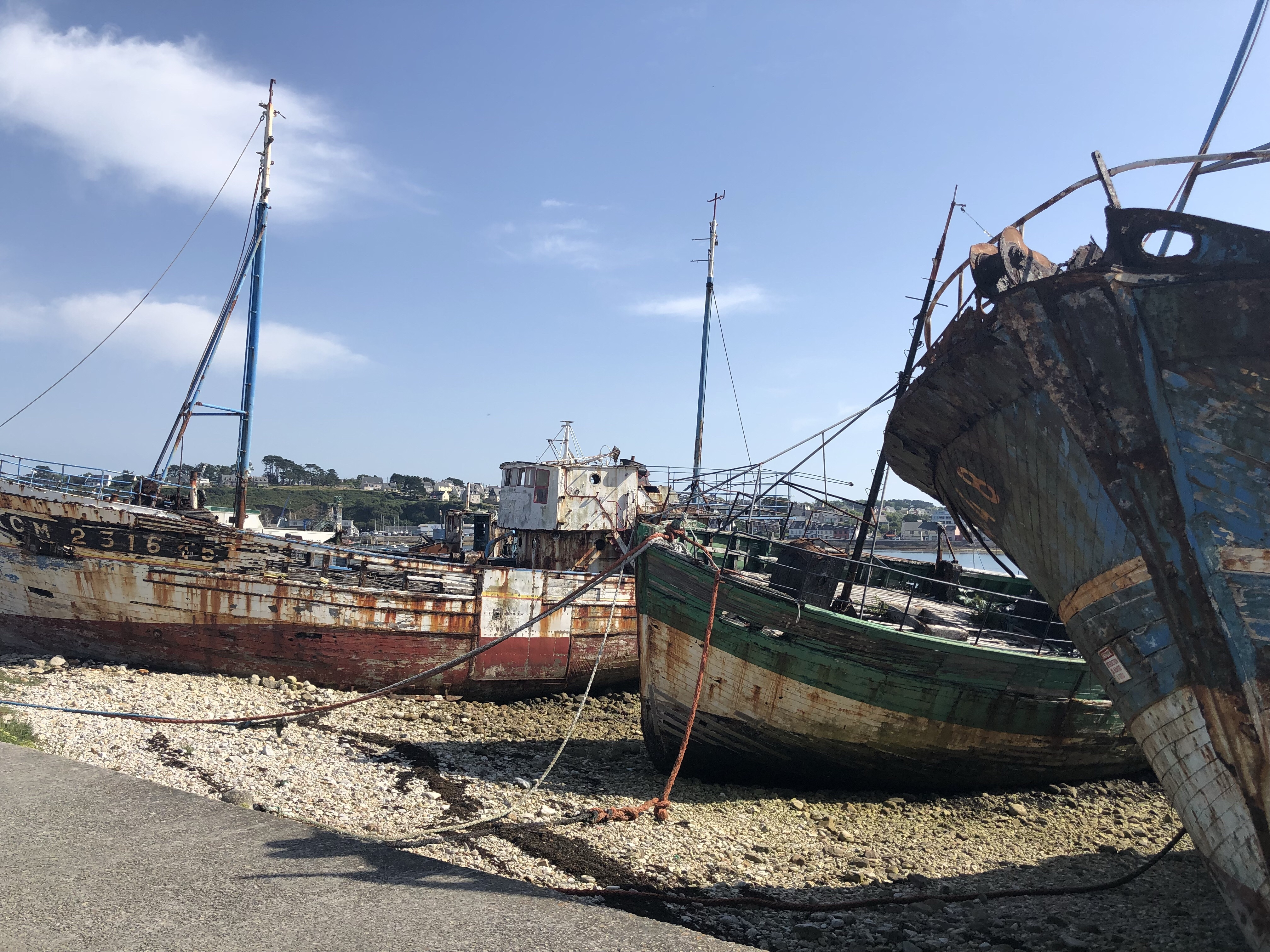Het scheepskerkhof van Cameret