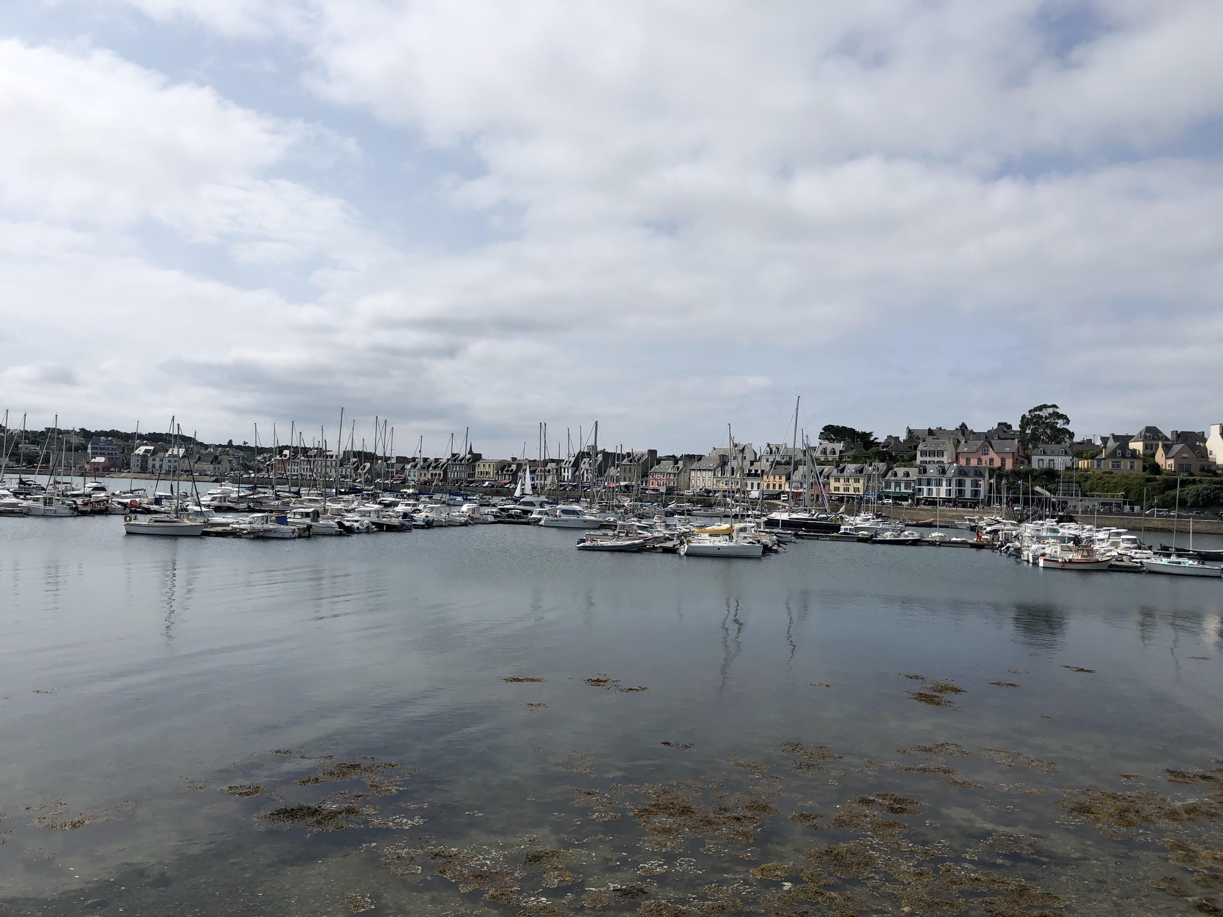 De baai van Camaret-sur-Mer
