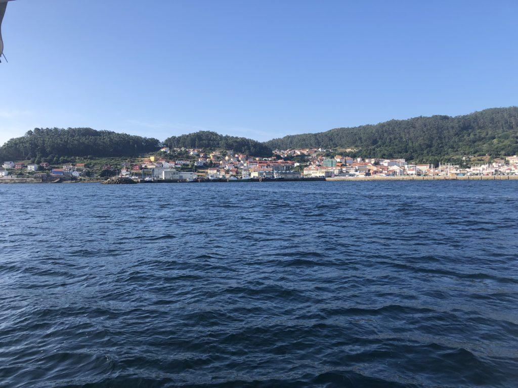 De haven van Muros